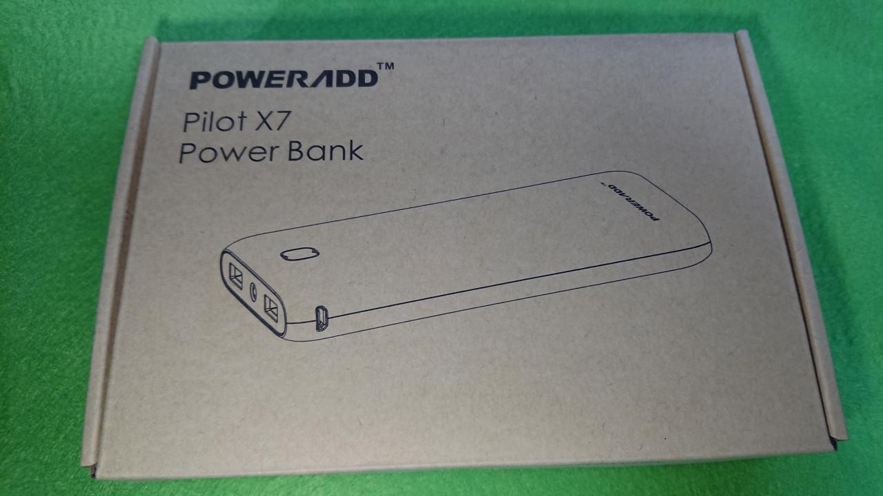 Poweradd Pilot X7のパッケージ