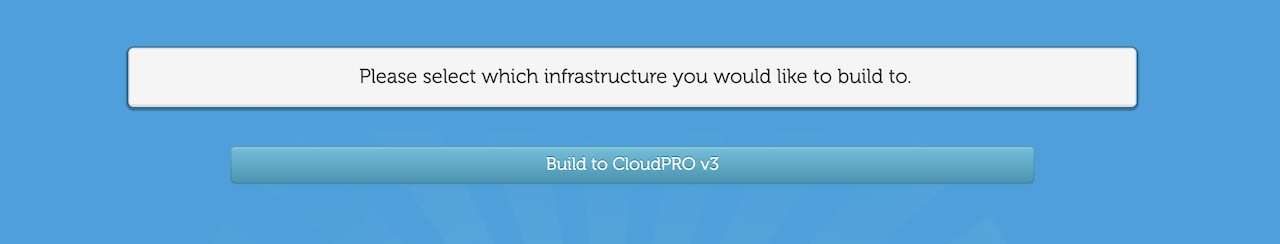 CloudatCostサーバーバージョンの選択